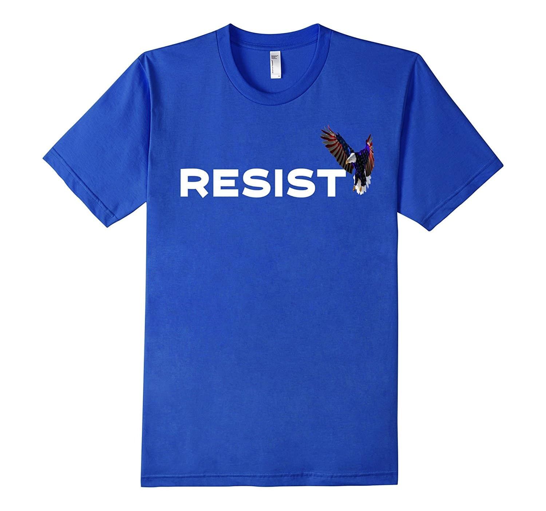 Resist Shirt Blue