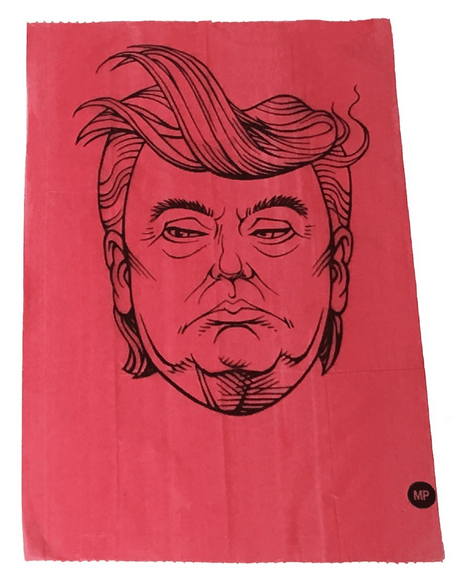 REPOOPLICAN trump dog poo bags