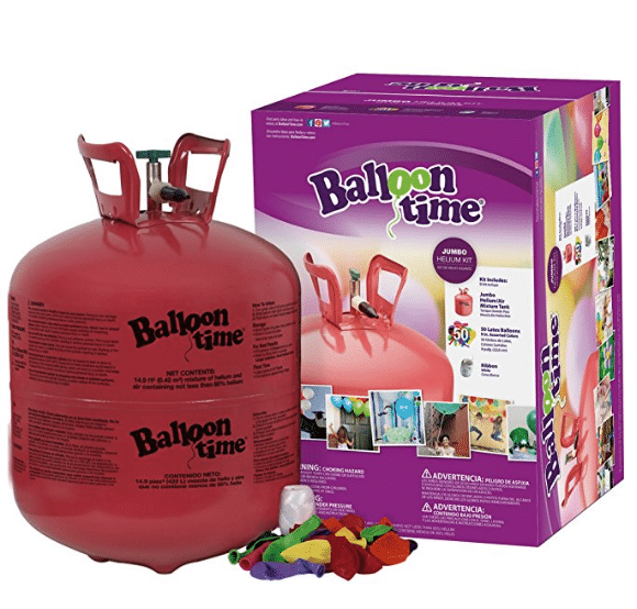 Blue Ribbon Helium Tank